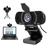 Best Mac Webcams - HD Pro Webcam 1080P with Microphone, Laptop Desktop Review