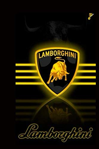 LAMBORGHINI: Notebook LAMBORGHINI A notebook always in your car, to record everything important and necessary, a special gift for everyone you love, 120 lined pages, measuring 6 * 9 inches.