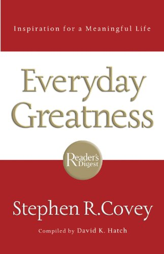Everyday Greatness: Inspiration for a...