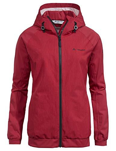 Vaude Damen Jacke Women's Cyclist Jacket II, Red cluster, 38, 41378