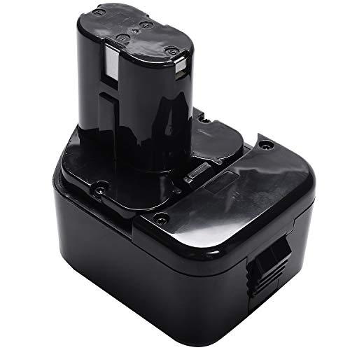 Ctzrzyt para Hitachi EB1214S DS12DVF3 BateríA Recargable 12V 2.0Ah Ni-CD BateríA de Taladro InaláMbrico para EB1212S EB1220BL EB1214L EB1230