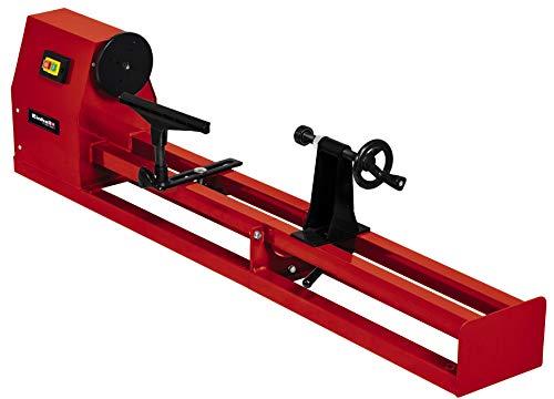 Einhell Torno TC-WW 1000/1 (400 W, 280 mm de diámetro máximo de torneado, velocidad del husillo 890-2600 rpm, incl. punta impulsora y la placa frontal)