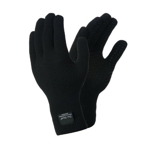 Dexshell Touchfit wasserdichte Handschuhe Large schwarz - schwarz