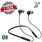 LIMESHOT® HP17 Wireless Bluetooth Earphone with Mic | Sports Headphone Headset Neckband Handsfree