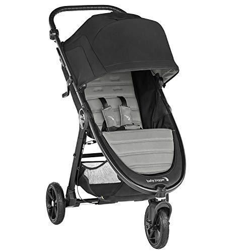 Baby Jogger City Mini GT2 leichter Kinderwagen | für jedes Gelände | Schneller Einhand-Faltmechanismus | Slate (grau)
