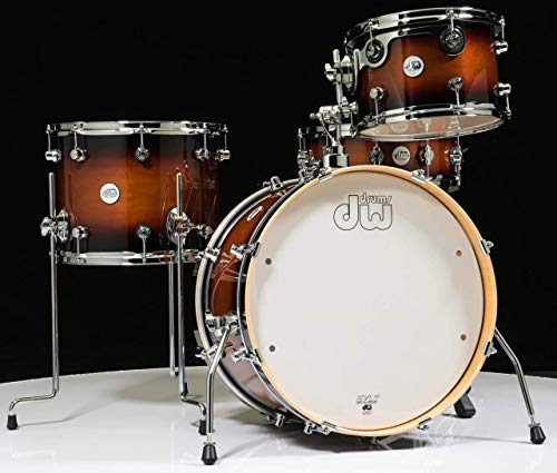 DW Design Series Frequent Flyer 4 Pieces Shell Pack - Tobacco Burst