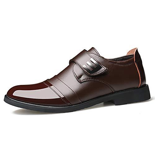 TTCXDP Oxford-schoenen voor heren, elegante schoenen, werkschoenen, van leer, antislip, geschikt voor bruiloften