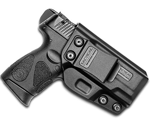 Tactical Scorpion Gear Polymer Concealed (IWB) | Adj. Cant & Retention | Inside Pants Holster: Fits Taurus Millennium G2 PT111 PT132 PT138 PT140 PT145 PT745 G2c