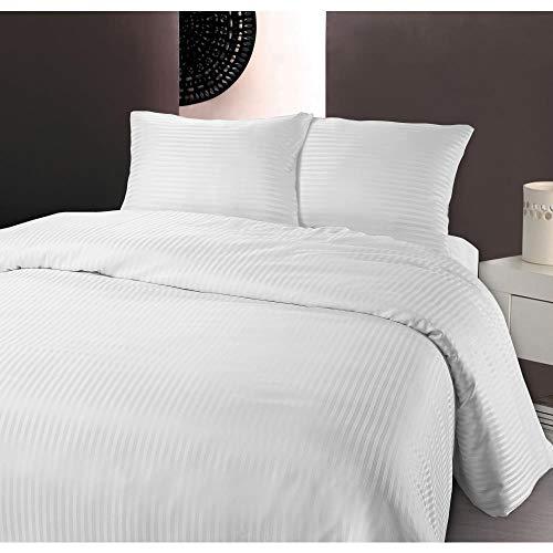 SleepTime Coordinato Copripiumino Dbo Dallas Bianco 140 X 200 cm + 60 x 70 cm