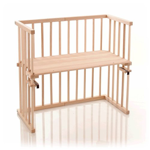 babybay mini - 140100 - Cuna de colecho, color madera natural