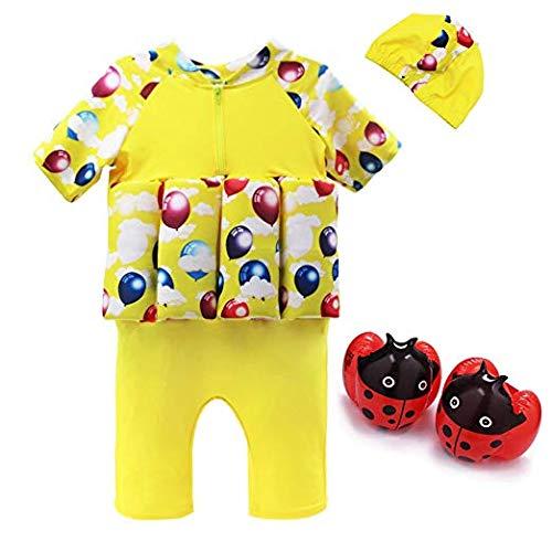 Vine Bojen-Schwimmanzug für Jungen mit integriertem Auftrieb zum Schwimmen lernen - für Kinder von 2–5Jahren.