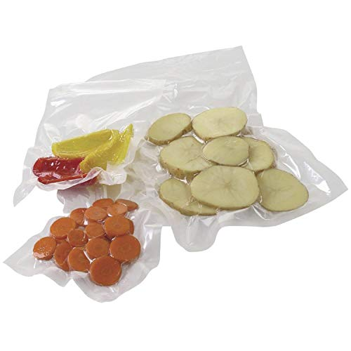Best Prices! APQ Pack of 1000 Co-Extruded Vacuum Pouches, Clear 8 x 10. Vacuum Food Bags 8x10. 3 mil...