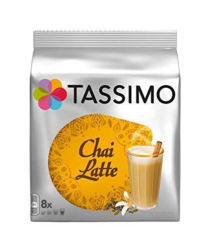 Tassimo Chai Latte 8 T-Discs, 8 Servings by Tassimo