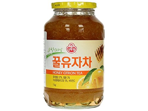 Koreanische Honig-Zitrone Tee 1 KG, Yuzu Tee mit Honig