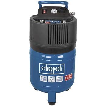 blu//argento//nero 5906117901 1/pezzi Scheppach Compressore hc24/V