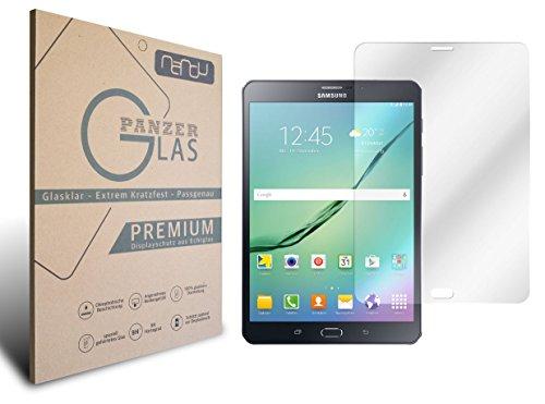nandu I Samsung Galaxy Tab S28.0LTE (t715N) EchtGlas I 2D Cover Cristal...