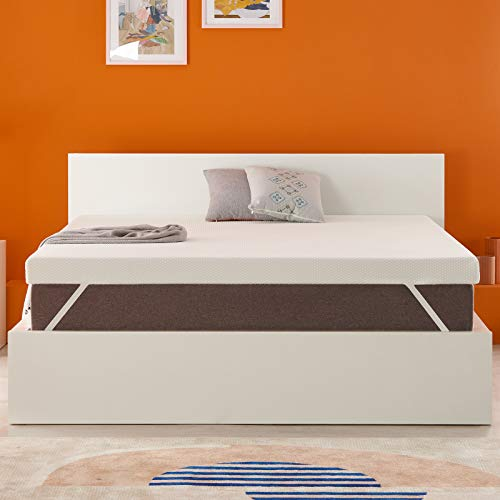 OYT Queen Size Mattress Topper,3 Inch Gel Memory Foam...