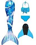 shepretty meerjungfrauenflosse mädchen Neuer Mermaid Tail Badeanzug für Erwachsene und Kinder,xiaolanG9-120