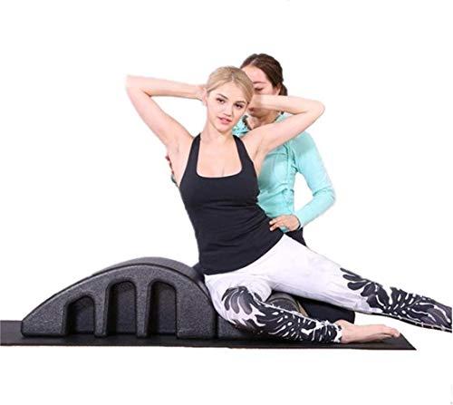 HongLianRiven Yoga Pilates-Massage-Bett, Feminine Ausrüstung Stretching Yoga Pilates Fitness Spine Deformer Matratze Zubehör Anfänger 8-11 (Size : 40)
