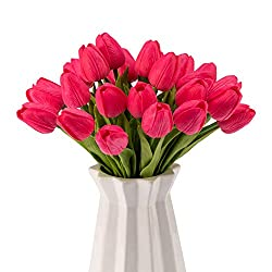artificial tulips perfect for spring decor