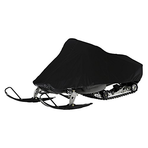 Epic EP-7706 EX-Series Weather and UV-Resistant Snowmobile Storage Cover, Black