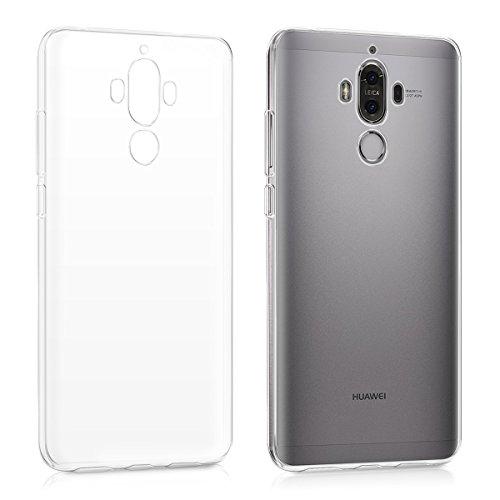 kwmobile Hülle kompatibel mit Huawei Mate 9 - Hülle Handy - Handyhülle in Transparent