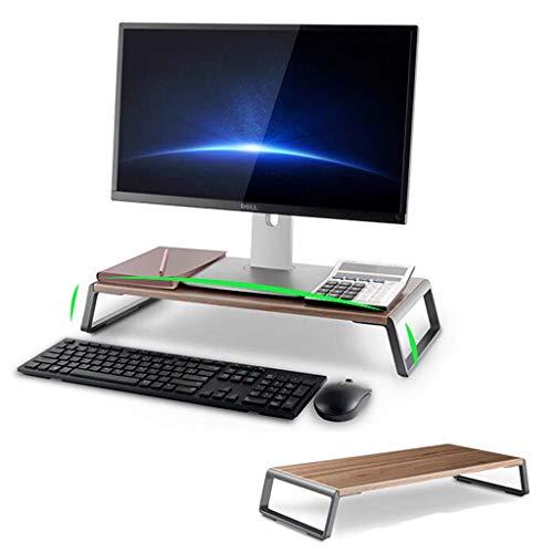 YDYG Soporte para Computadora Portátil Soporte De Escritorio Vertical para Monitor Computadora Moda con Almohadilla Antideslizante para Impresora Computadora Portátil iMac O Estante Computadora