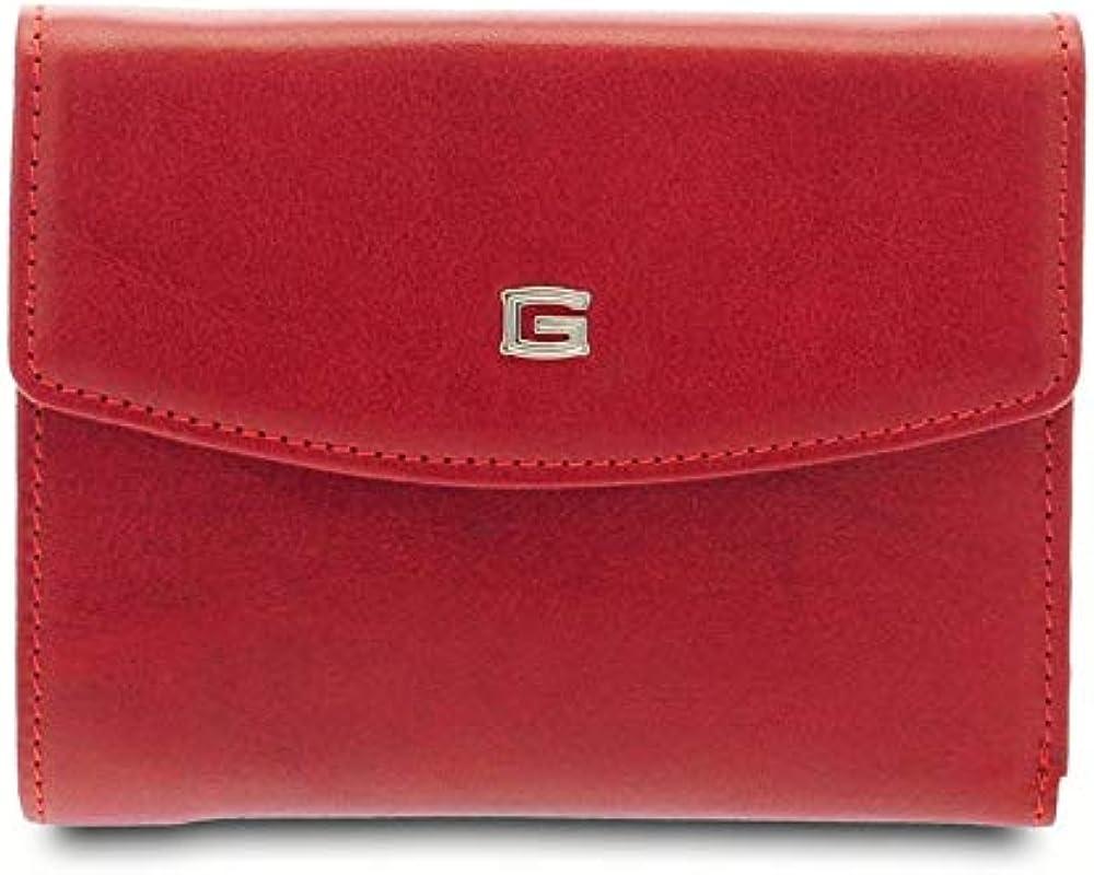 Giudi ®,portafoglio per donna,in vera pelle 7478/GD