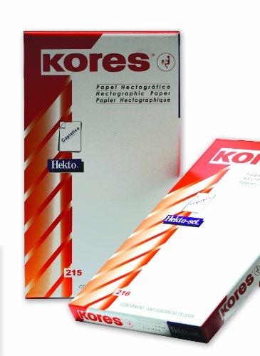 100 X KORES® Spirit Carbo Jeu de Violet Papier Stencil Paper DIN A4 Hecto