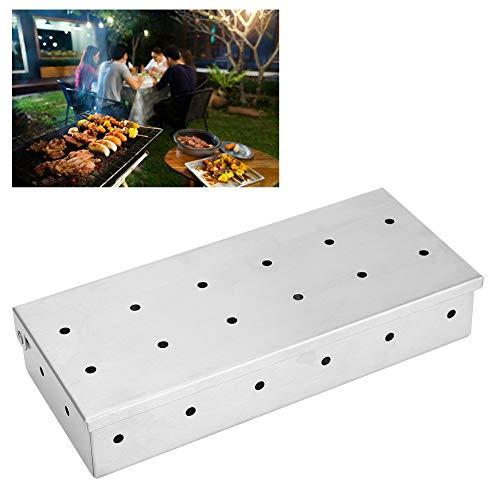 Räucherbox mit großem Fassungsvermögen, Räucherbox, für Grillpartys Küchen Picknicks Restaurants Camping