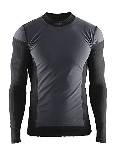 Craft 1904505-9999-6 Camiseta Térmica, Hombre, Negro, L