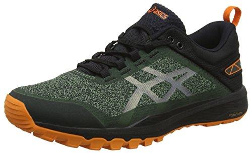Asics Gecko XT, Zapatillas de Deporte Hombre, Verde (Cedar Green/Black 300), 42 EU