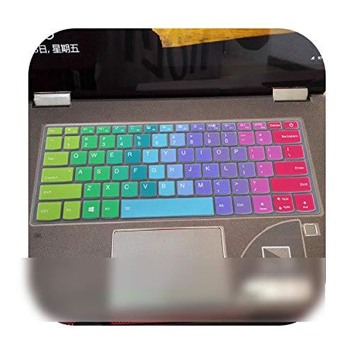 Silicone Keyboard Cover Skin Protector for Lenovo Ideapad 320 14 320s 15 120s 14 330C 14 S130 14 340C 14 330S 14 V320 14 V330 14 Color 1