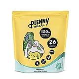 Jimmy Joy Plátano Plenny Shake, 5 Bolsas x 4.000 kcal, Sustituto de Comida, Nutrición Completa 26 Vitaminas y Minerales, 20gr Proteína, Vegano, Sin Lactosa, Sin OGM