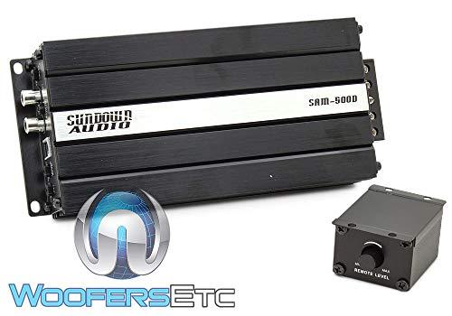 Sundown Audio SAM-500D Monoblock 500W RMS Micro Amplifier