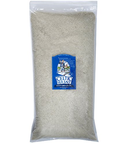 Light Grey Celtic Sea Salt 22 Pound Resealable Bag – Additive-Free, Delicious Sea Salt, Perfect for Cooking, Baking and More - Gluten-Free, Non-GMO Verified, Kosher and Paleo-Friendly