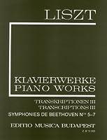 ベートーヴェン: 交響曲/ピアノ独奏用編曲/リスト編 第2巻: 第5番~第7番/ムジカ・ブダペスト社