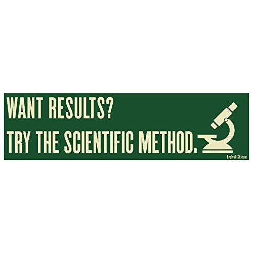 EvolveFISH Aufkleber Try The Scientific Method 27,9 x 7,6 cm