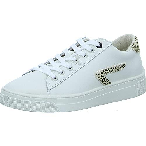 Hub Hook Leather Off White Cheetah 37
