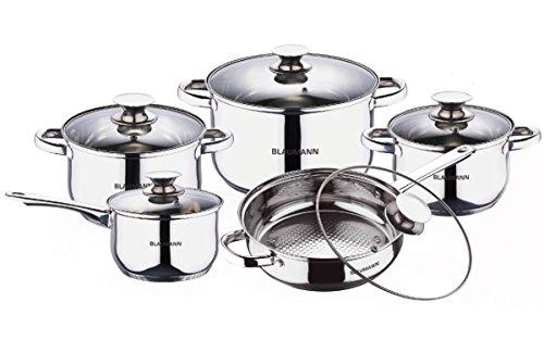 Blaumann Batería de cocina 10 Piezas Jumbo Gourmet Line