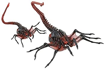 NECA Aliens 7  Scale Series 10 Alien Queen Face Hugger Action Figure