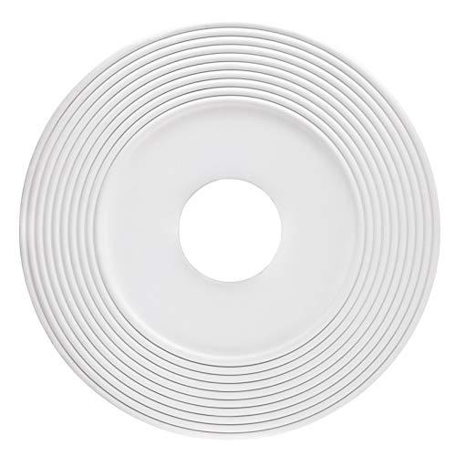 Westinghouse Lighting 77713 Rosetón para techo con acabado blanco 40,6 cm