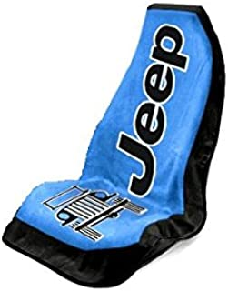 Seat Armour Universal Fit Jeep Towel-2-Go Seat Protector - Blue