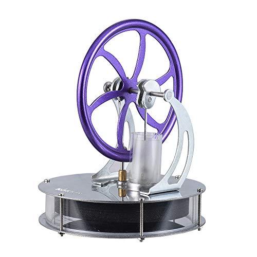 Engine Stirlingmotor KKmoon Niedrigen Temperatur Stirlingmotor Motor Modell Heißdampf Bildung spielzeug DIY Kit