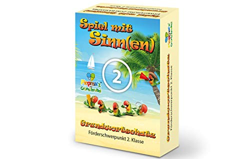 Piepmatz und Grünschnabel Spiel MIT SINNE(EN) ERWEITERUNG - Förderschwerpunkt 2.Klasse