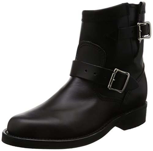 Chippewa Women's 1901W11 7-Inch Original Engineers Boot Black Whirlwind 7 M