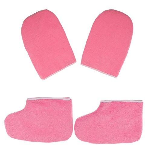 MagiDeal Profi Paraffinwachs Füße Hände SPA Socken Schuhe und Handschuhe Handpflege und Fußpflege Zubehör