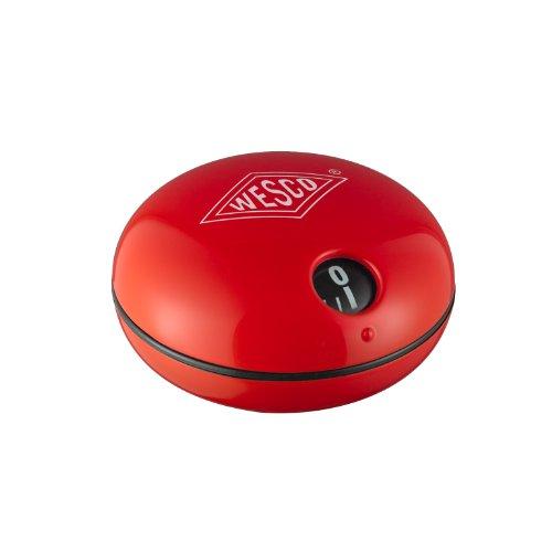 WESCO 60 Min-Timer 70 mm Ø 40 mm hoch -02 rot