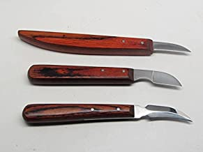 3 pack Chip Woodcarving Knives Whittling Decoy Wood Carving Tools