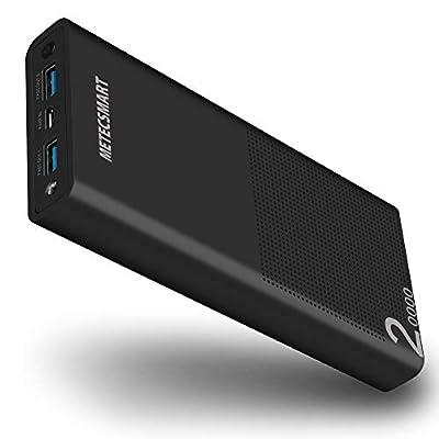 Fast Power Bank Portable Charger, Metecsmart Qu...